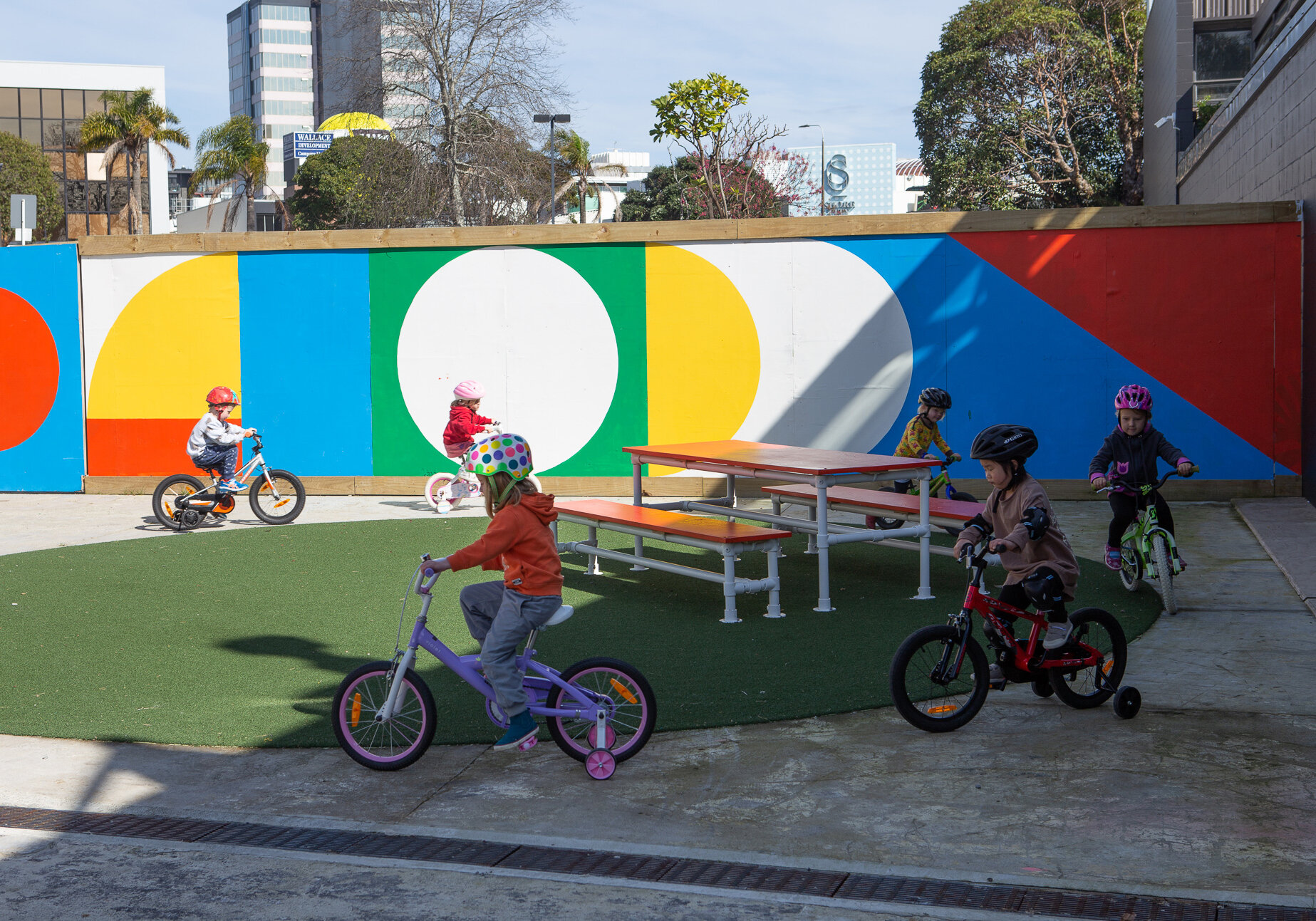 Auckland Transport  Kids Learn to Ride class.