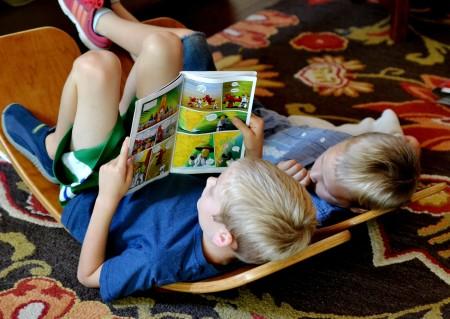 reading on rocker boards