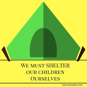 We must SHELTER
