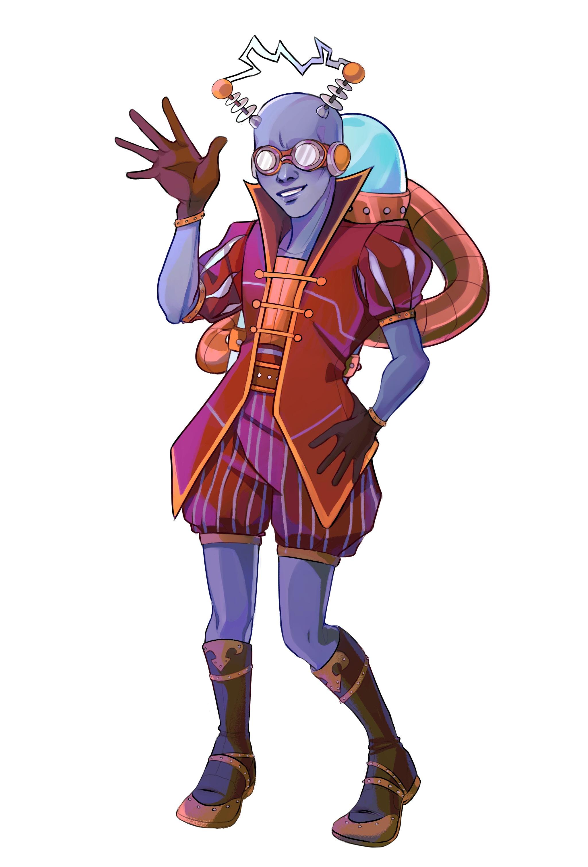 Zenia - Vedalken Izzet Sorceress