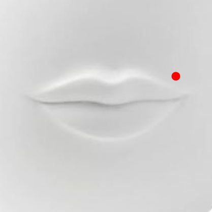 Monroe Piercing   This is a lip piercing placed off-center, above the upper lip on the left-hand side and is meant to resemble Marilyn Monroe's beauty spot, although Monroe's beauty spot was on her cheek, not her lip. The Madonna piercing is similar but worn on the right-hand side.