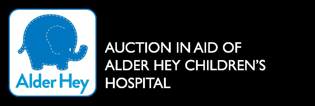 Auction in aid of Alder Hey Children's Hospital