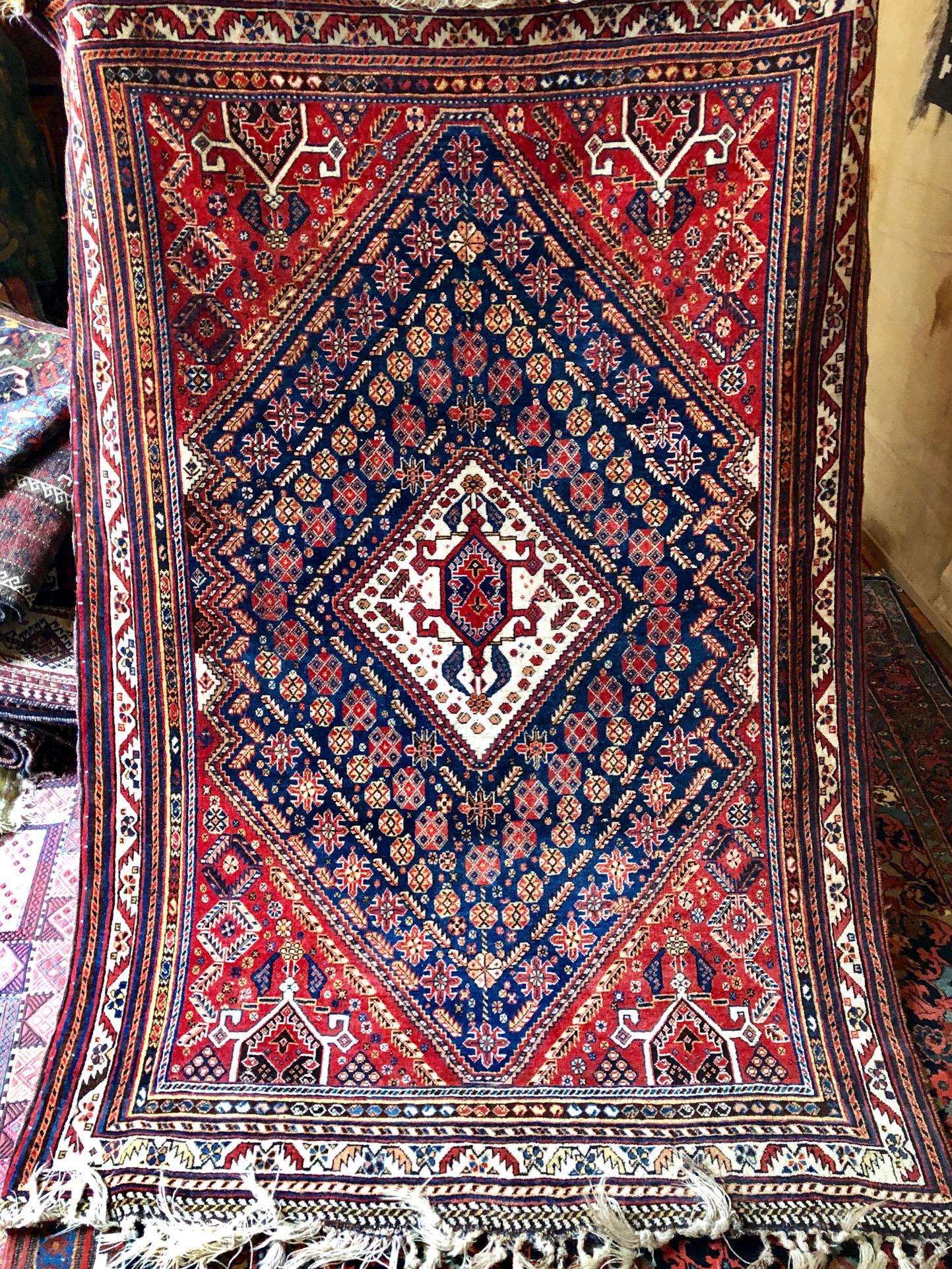 Qashqai rug mint antique