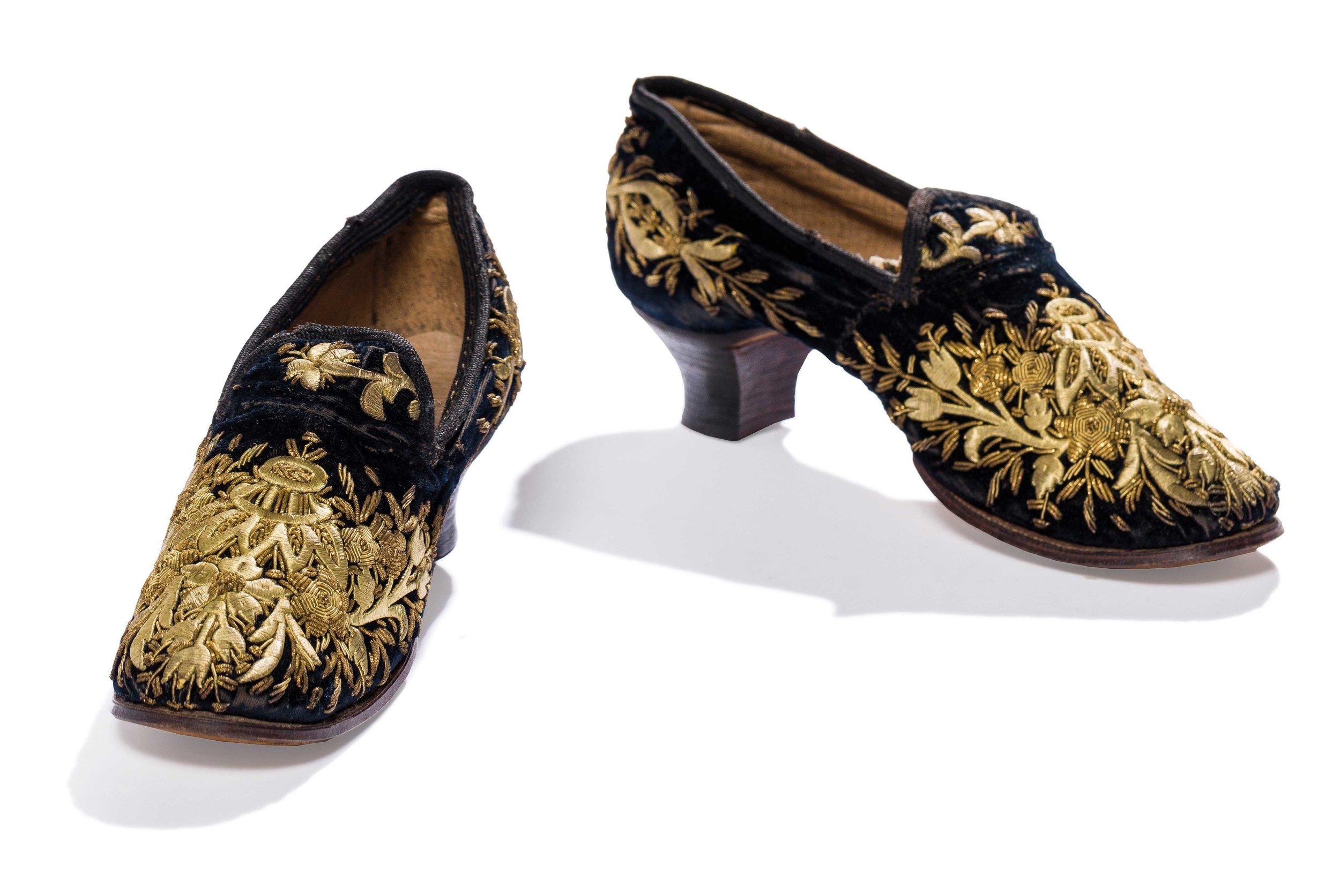 Antique Ottoman Pair Of Shoes
