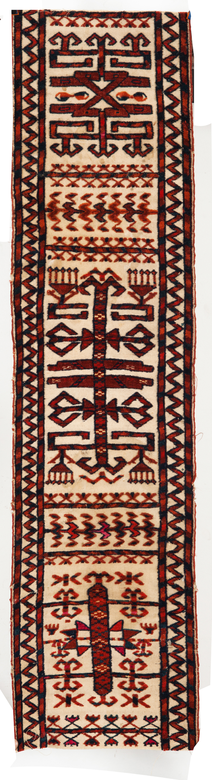 Turkmen fragment of tente band A