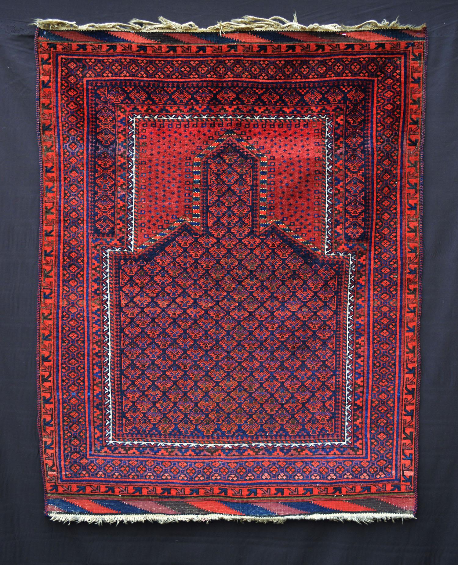 Timuri – Dokhtar-e-Qazi Prayer-Rug