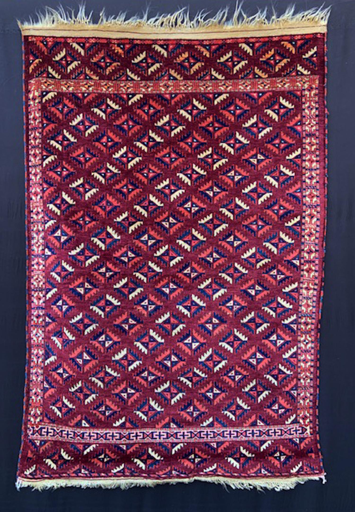 Goklen Turkmen Wedding Rug