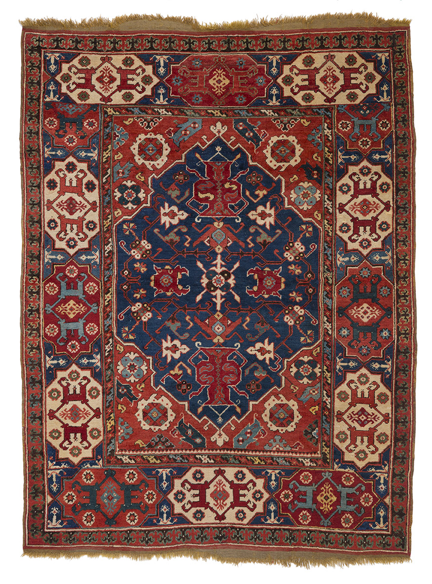Transylvanian' double-niche rug