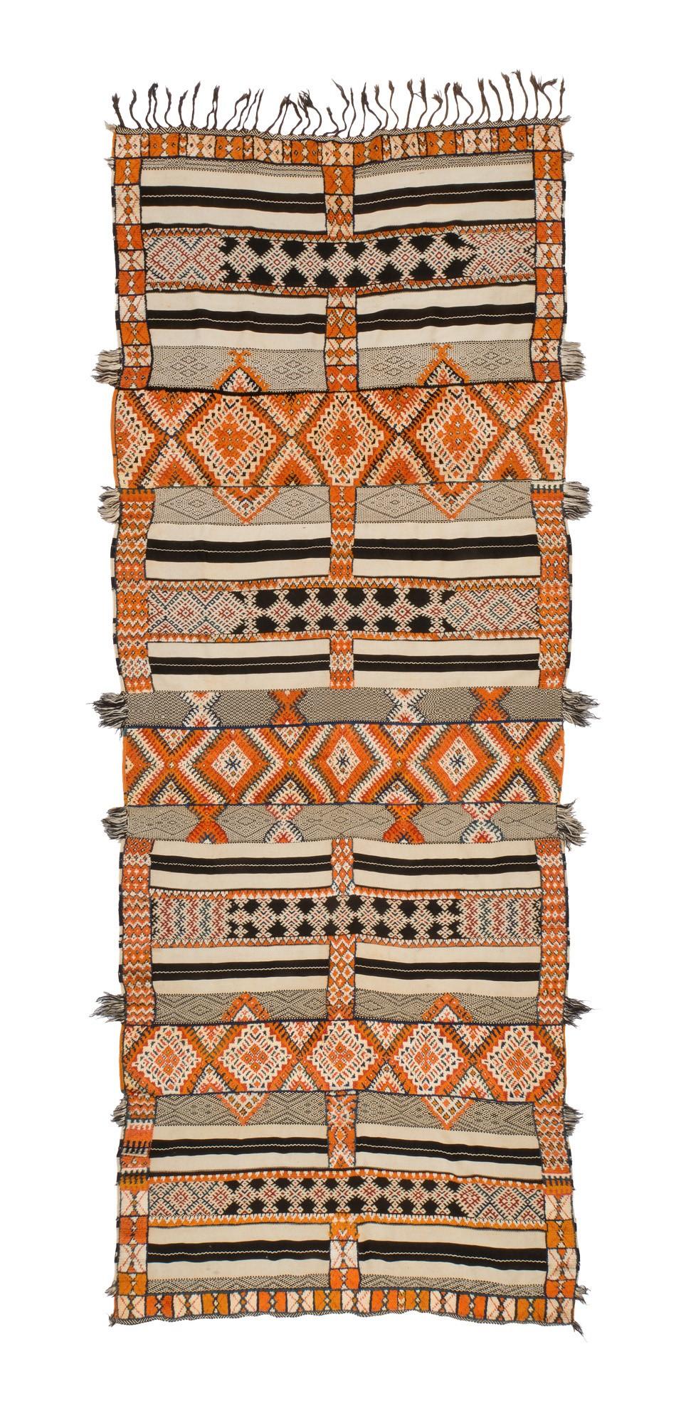 Ait Ouaouzguite mixed technique prestige textile 'Glaoui'