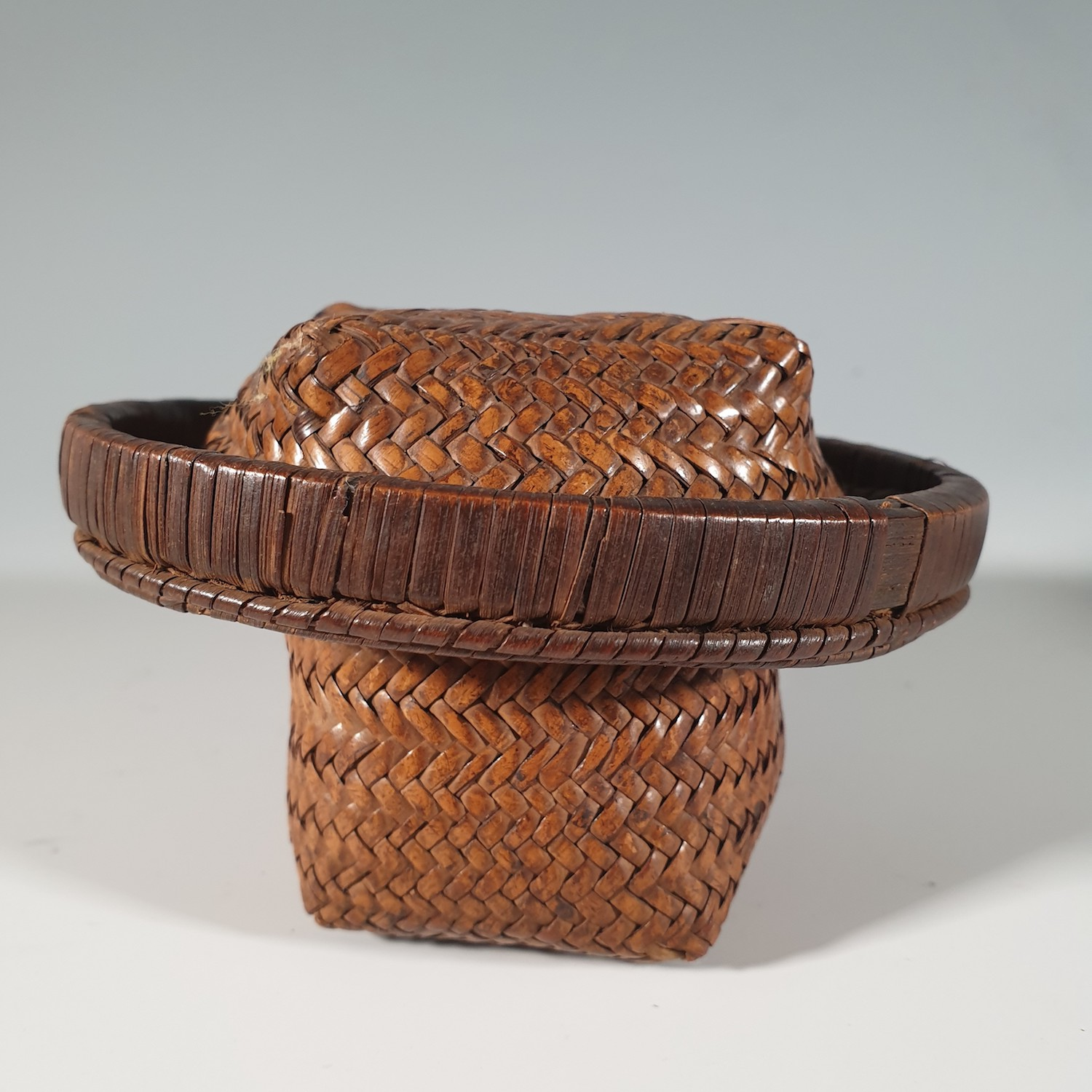 A very rare miniature Kuba Basket
