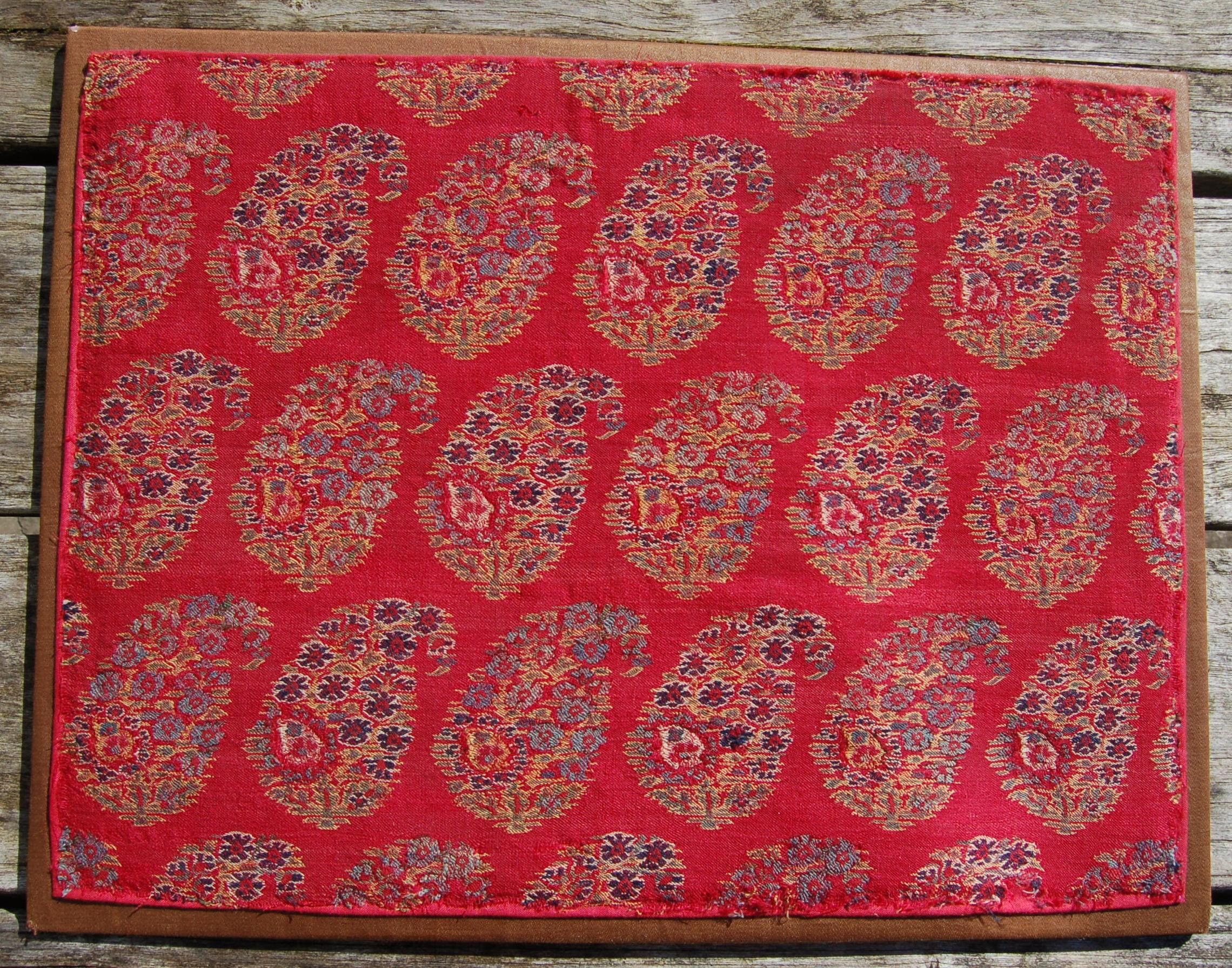 Kashmir shawl fragment