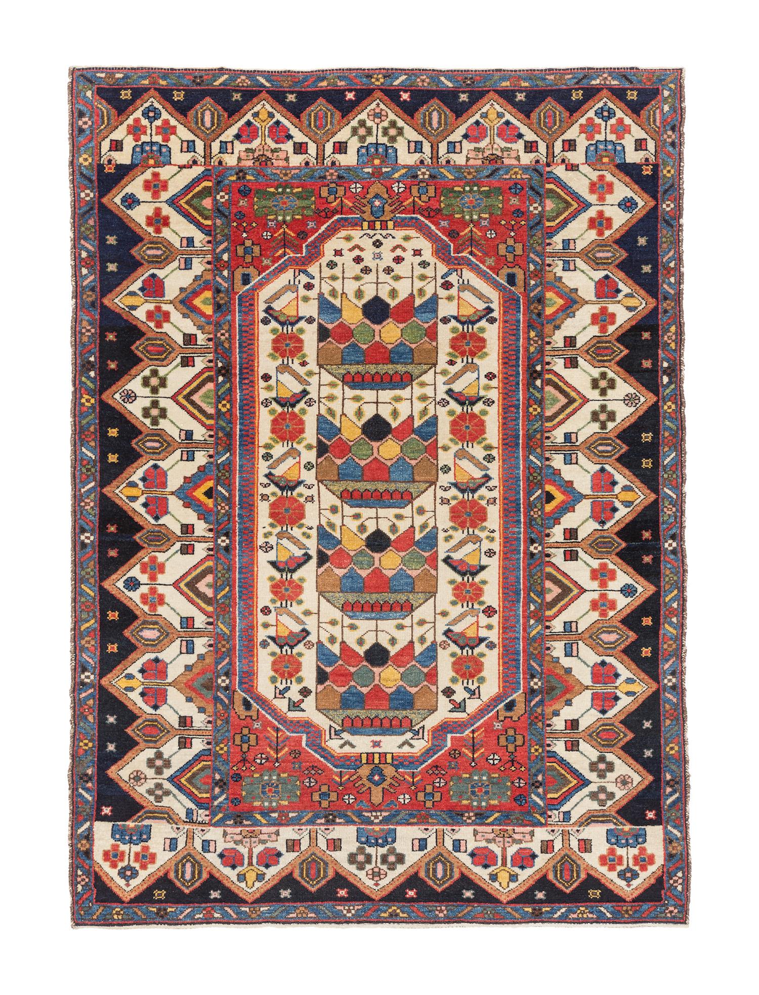 Saveh-Zarand rug