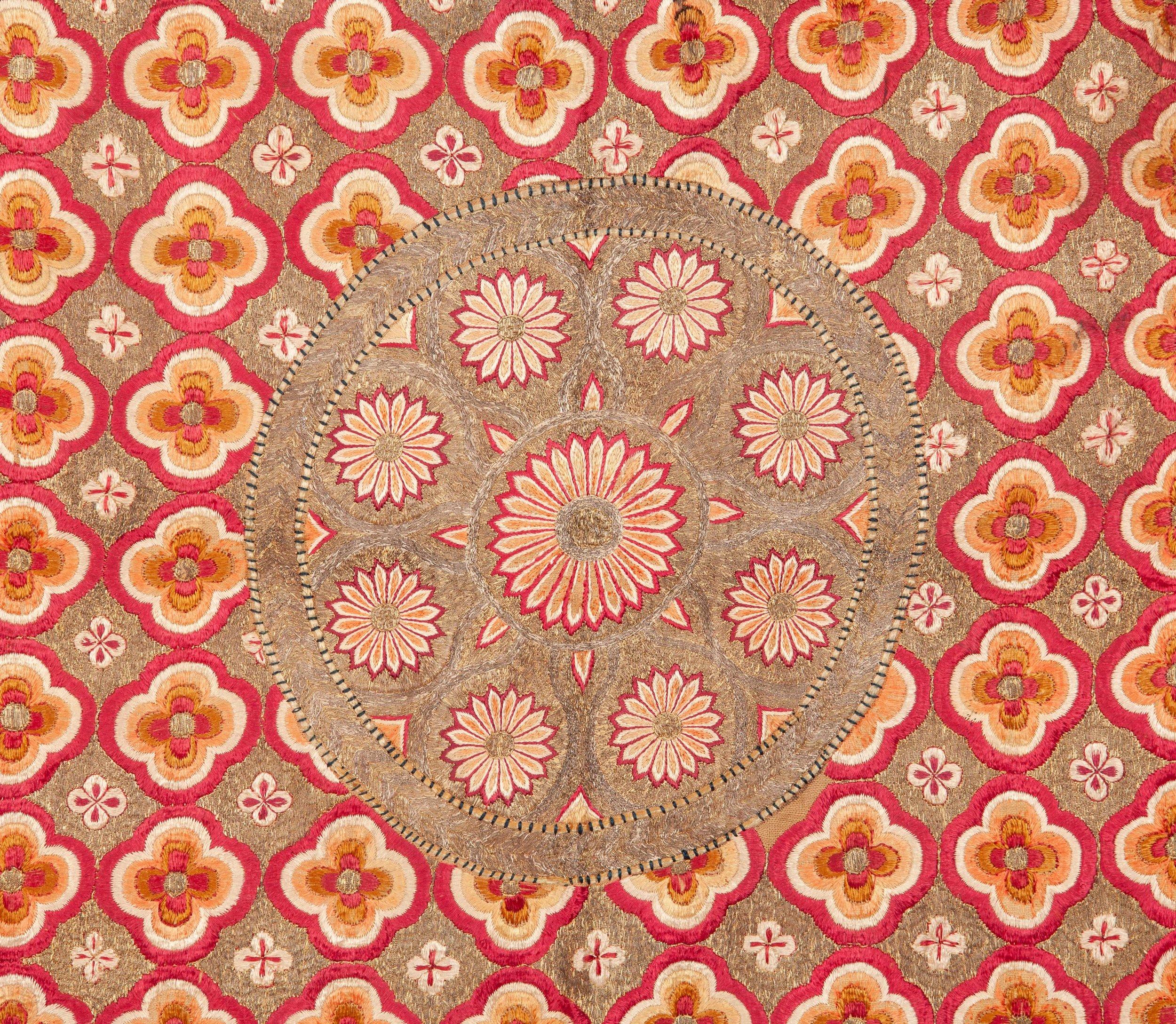 Deccani Embroidered Cover