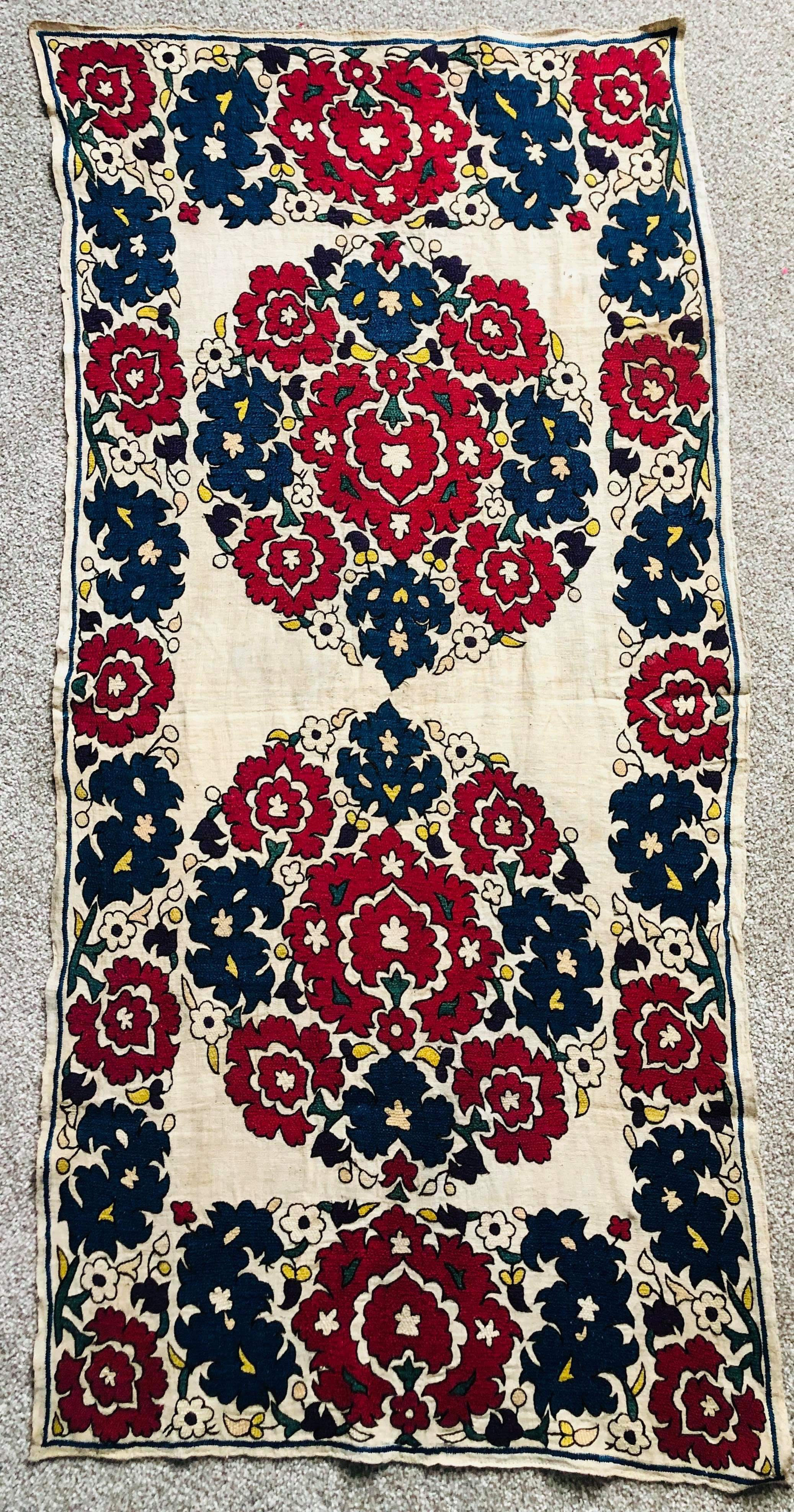 Antique Algerian embroidery