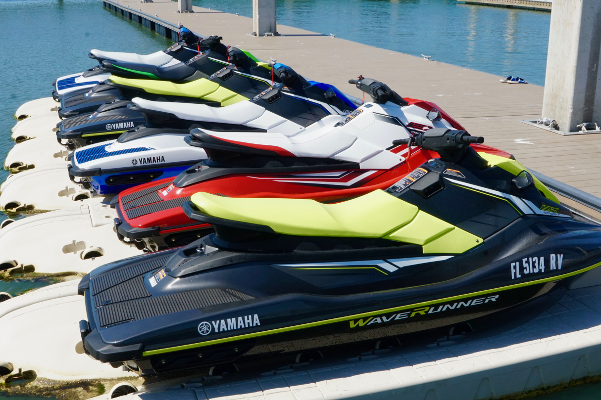 Powerful and clean Yamaha Jet Skis