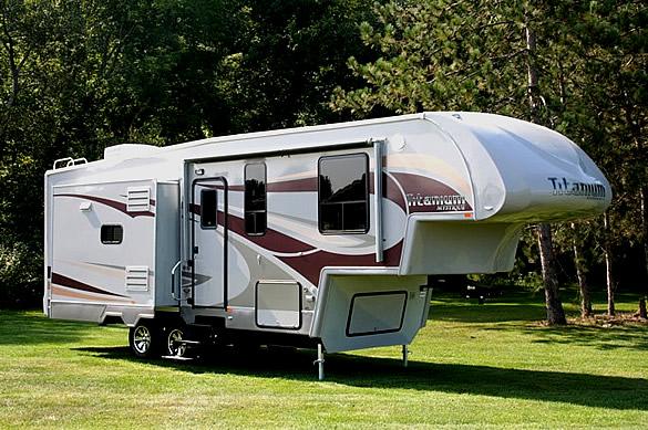 Travel Trailers,Toy Haulers, Fifth-Wheels,  Class C Motor homes, Super C Motor homes