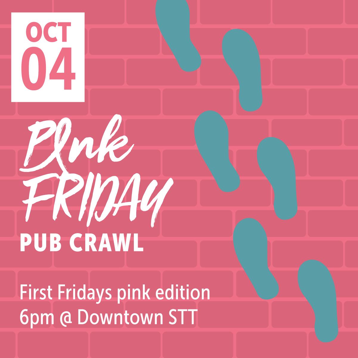 Pink Friday Pub Crawl