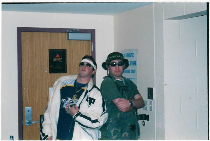 The ccos boys - Ryan Marsh (Westwood, MA) & Mike Bruyette (Canton, MA)Doug and Skeeter met at freshmen orientation in 2001 at BC as young boys, lived together for four years in college, traveled abroad to Ireland (Doug) and England (Skeeter) in 2004, moved out to San Diego together in 2006 and now are old men who live a town apart, with wives and kids, and play their golf out of the Cape Club of Sharon.