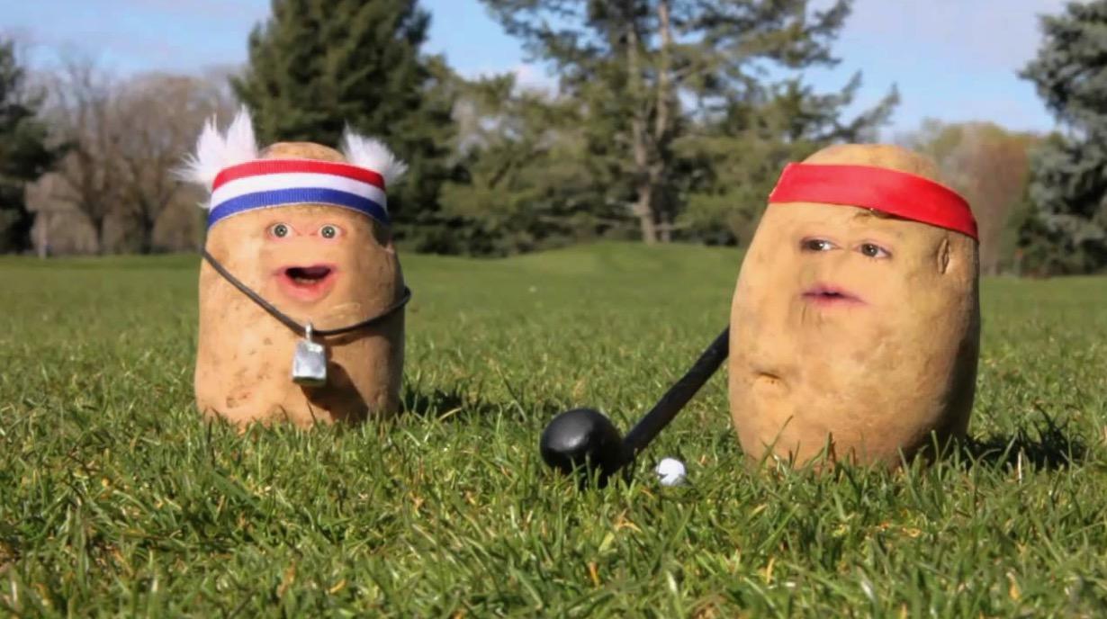 idaho hacks - Derek Ream (Boise, ID) & Taylor Schmidt (Boise, ID)Potato Farmers.