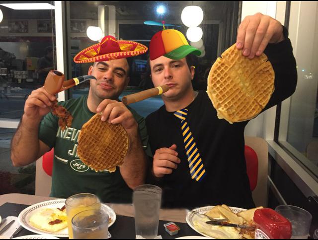 beef stroganoff - Derek Ryan (Brooklyn, NY) & Thomas Gannon (Farmingdale, NY)N/A.