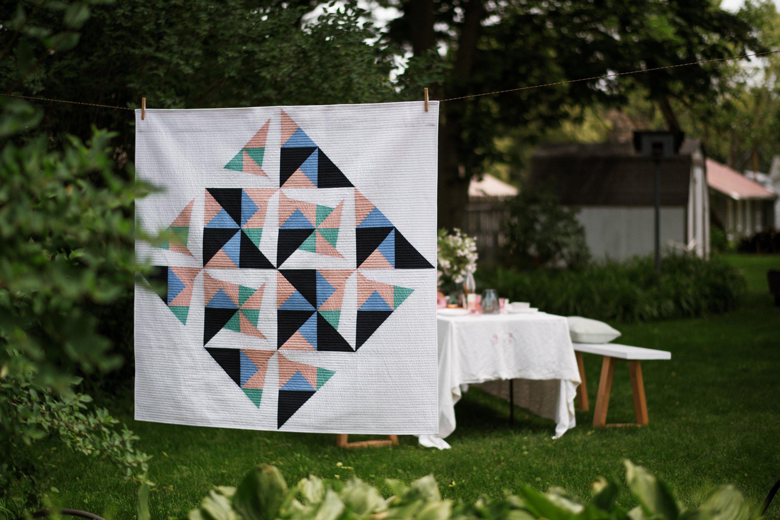 Pinwheels Quilt - by the mqg