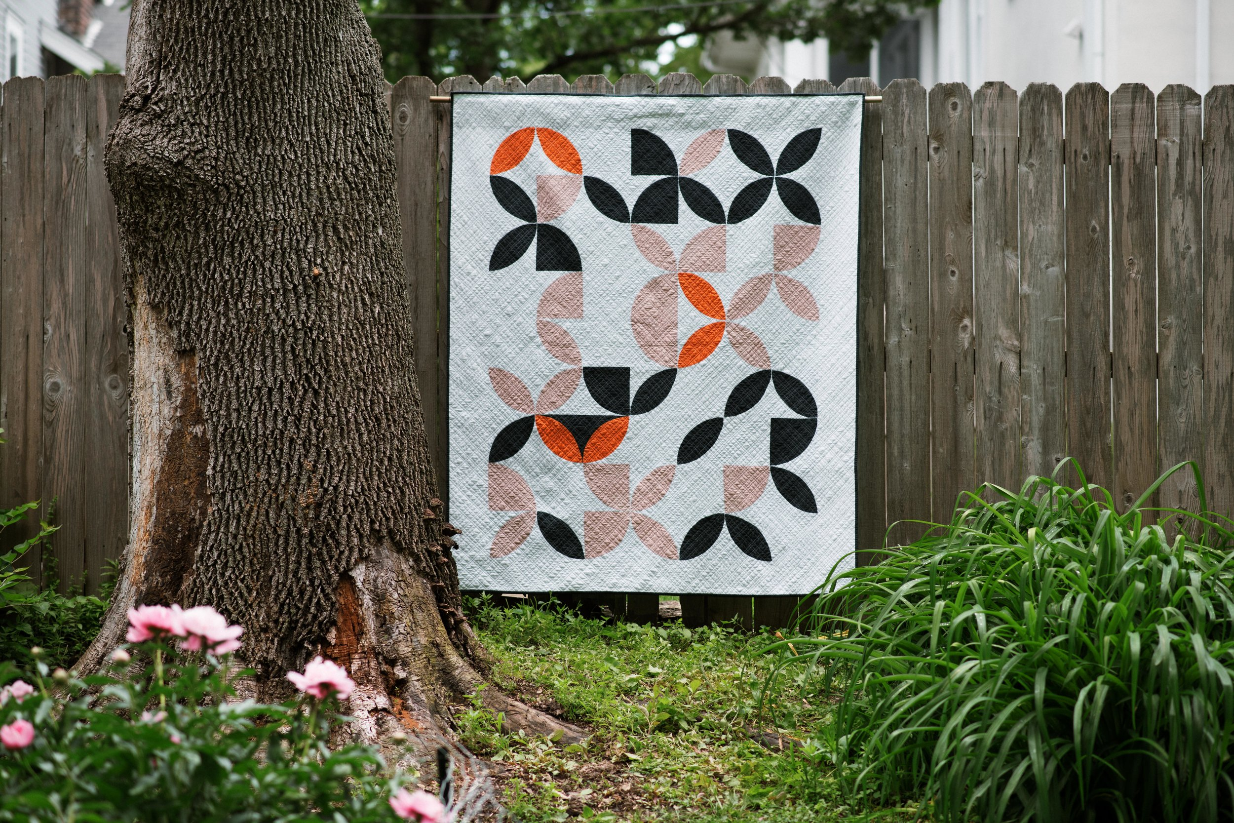 Disappearing Oranges Quilt - By Cheryl Brickey