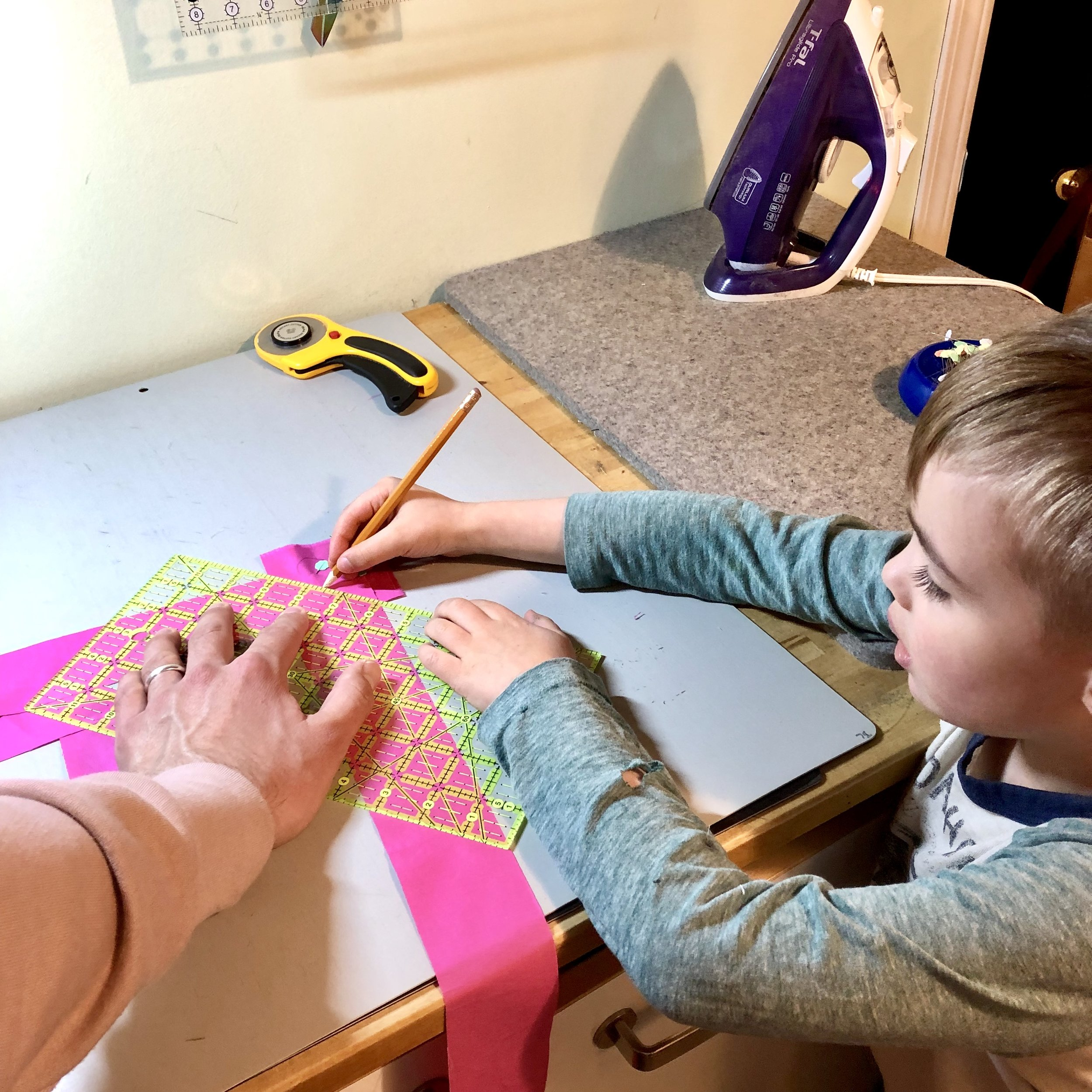 Engaging Your Family in Quilting - By Jessica plunkett