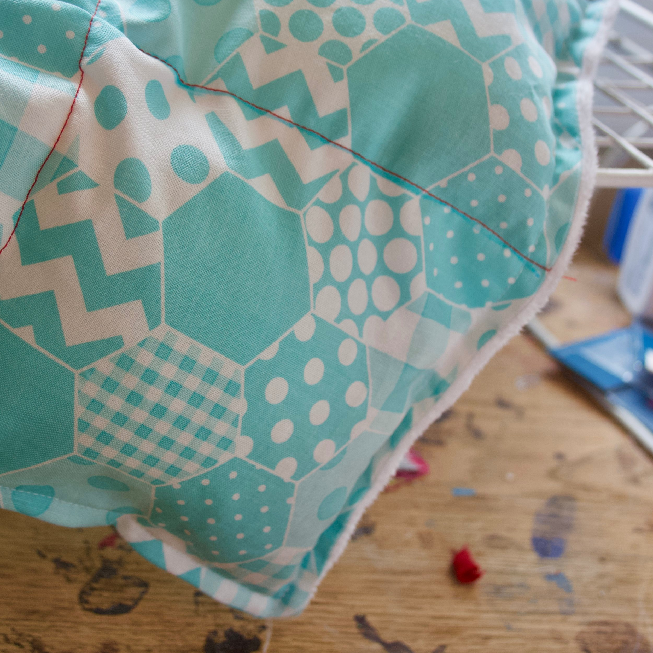 How to Make an Easy Weighted Blanket - By jessica farthing
