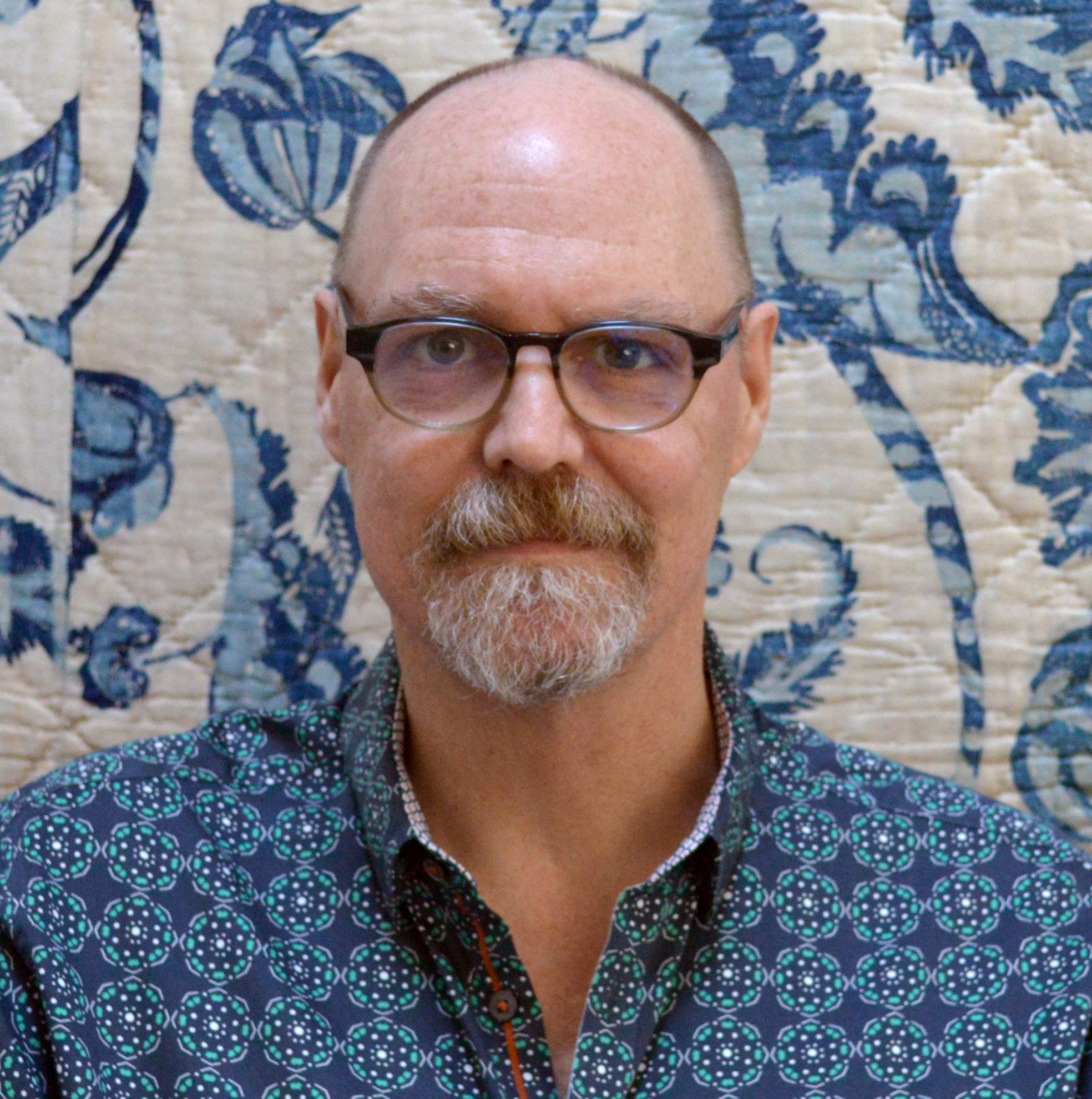 Bill volckening - Bill Volckening is a quilt collector who lives in Portland, Oregon. He started collecting 30 years ago, and his collection includes more than 500 examples made between 1760 and the present day. Quilts from his collection have been featured in exhibitions and publications worldwide.