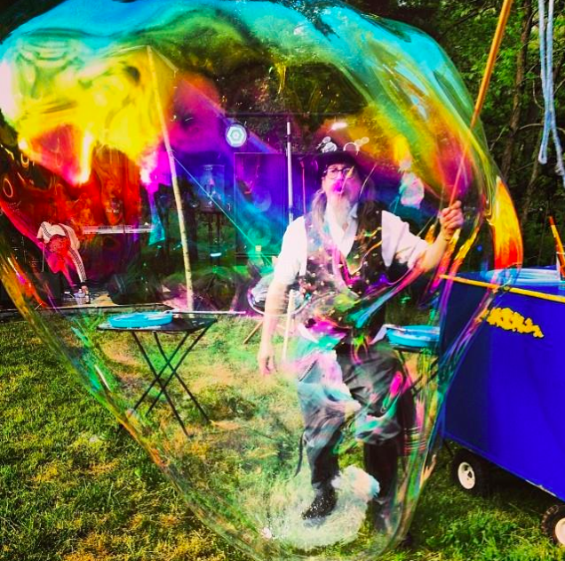 PROFESSOR BUBBLEMAKER - Preforming all fair week with his marvelous bubble shows, show times announced daily on the groundsTime & location to be announced