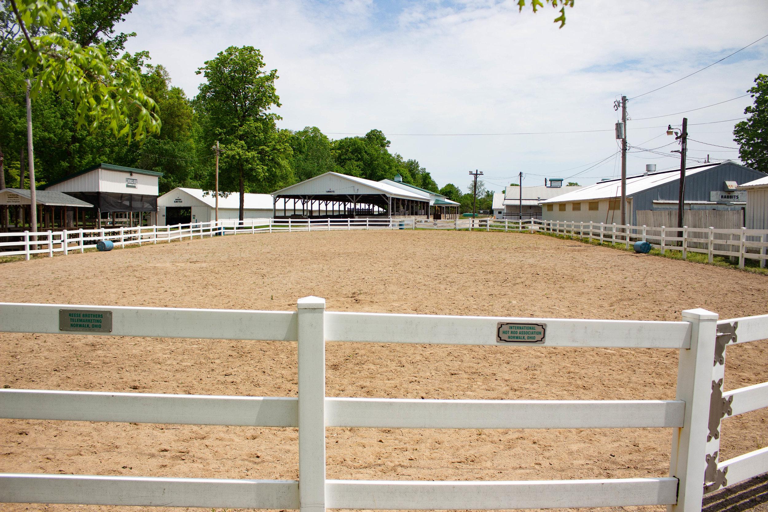 Horse Arenas -