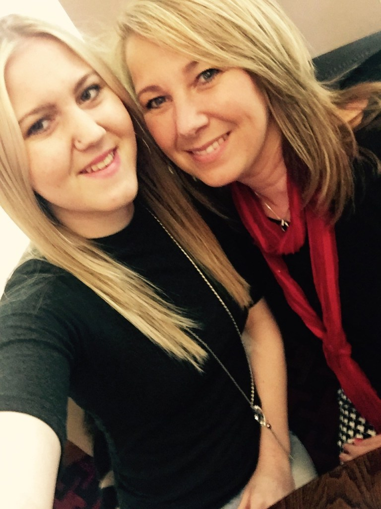 Stacey Betts with her daughter Megan