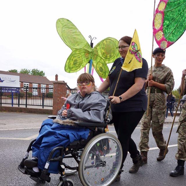 Our parade volunteers were mega 💫
