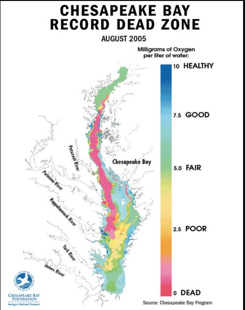 Source: Chesapeake Bay Foundation
