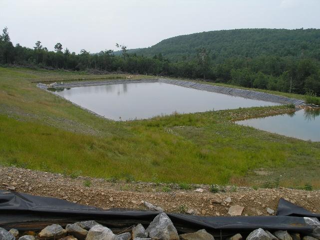 Klondike KL2 treatment ponds