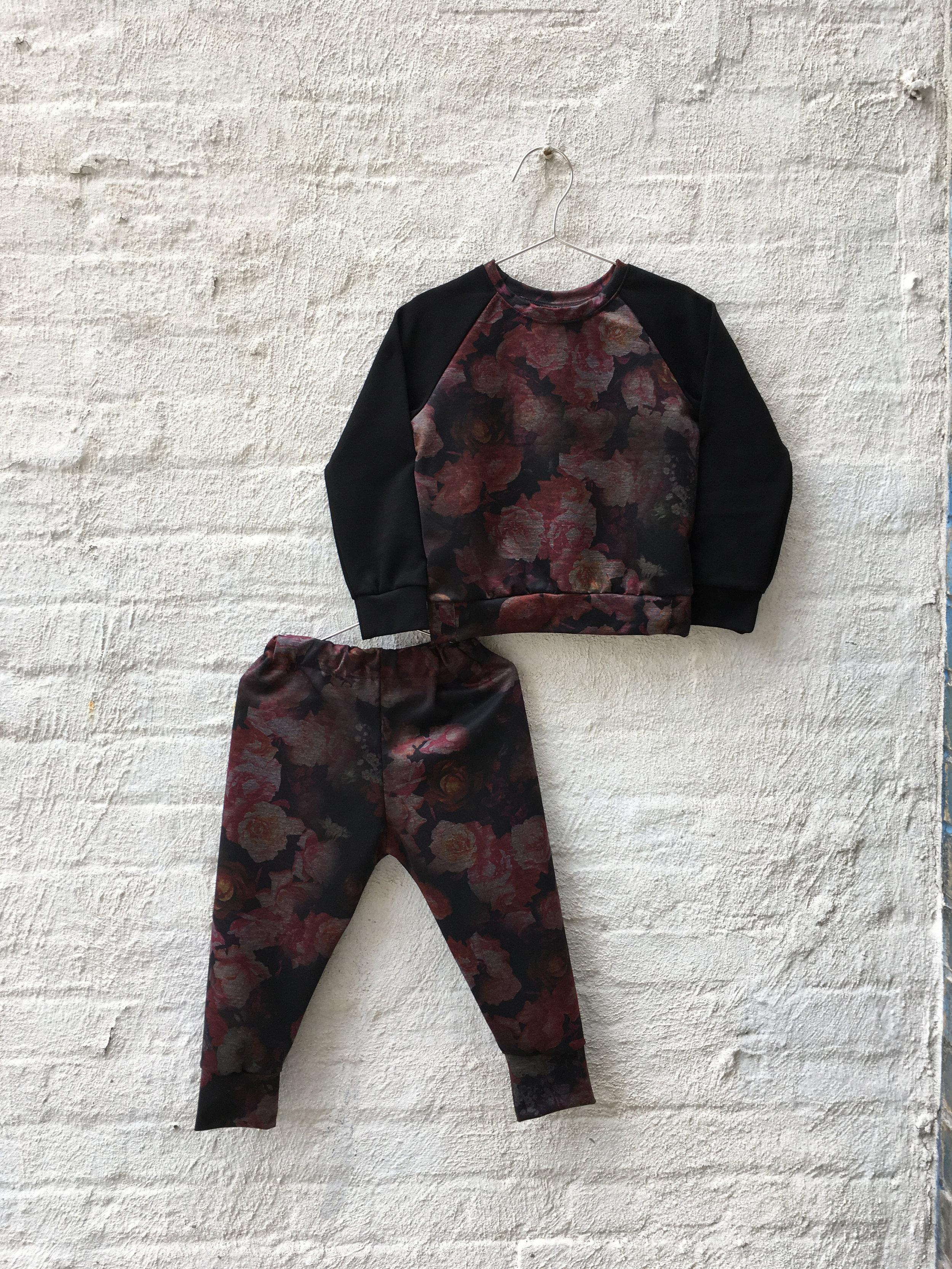 pink floral raglan with black sleeves set TU copy.jpg