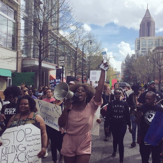 March 2017 #March4theGurlz Protest!