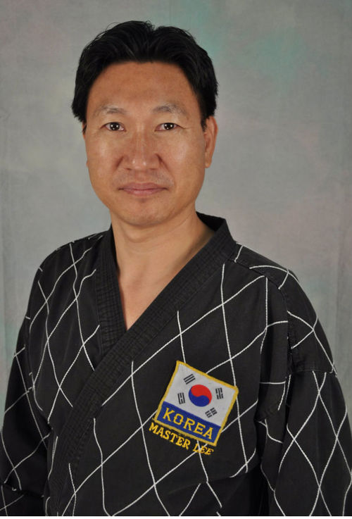 Grandmaster Chu Young Lee, 8th degree black belt, chief instructor and owner of Lee's Tae Kwon Do Academy