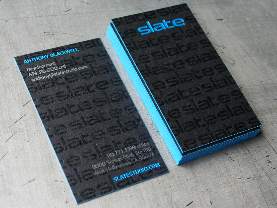 0003_Slate_studio_letterpress_foil_black_business_card.jpg