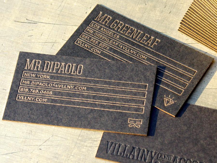 0004_villainy_black_business_card_letterpress_gold_ink.jpg