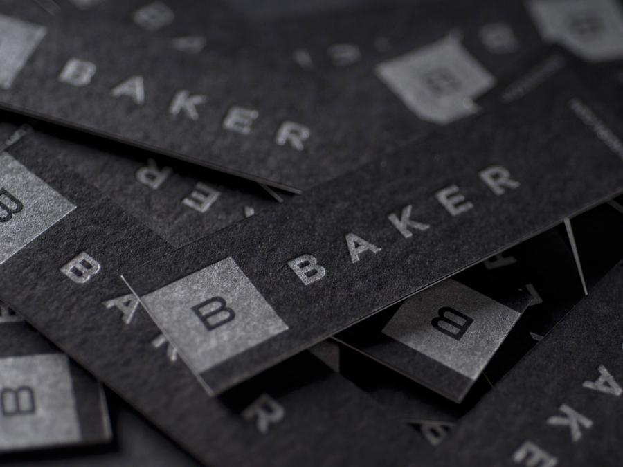 0002_Baker_business_cards_letterpress_backs_black_with_silver_ink.jpg