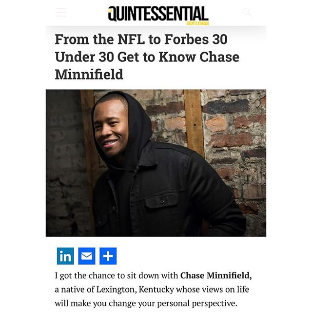 Thank you @theqgentleman & @mr_renaissanceman for highlighting my journey from athlete to entrepreneur.I appreciate the love. Check out the article link in my bio! #quintessentialgentleman #entrepreneur #athlete2entrepreneur #athletetransition #journey