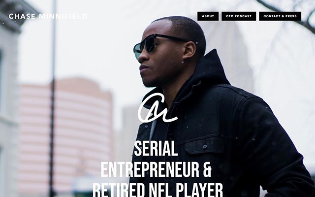 "In whatever it is you aspire to do in life, creating a strong foundation is fundamental in your journey to success. #facts  I'm proud to announce the launch of my new website, www.chaseminnifield.com (link in bio), which highlights my entrepreneurial and philanthropic endeavors.  Check it out and let me know what you think!"" #entrepreneur #blacktech #blackceo #marketing #leadership"
