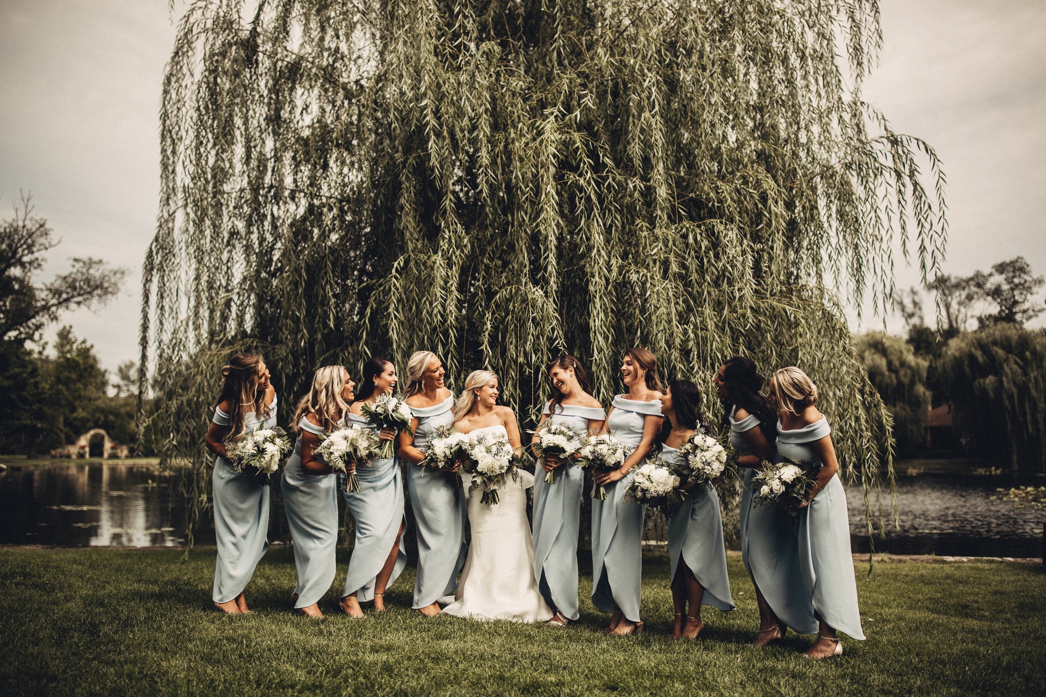 Bridesmaid Photos at Gervasi Vineyard