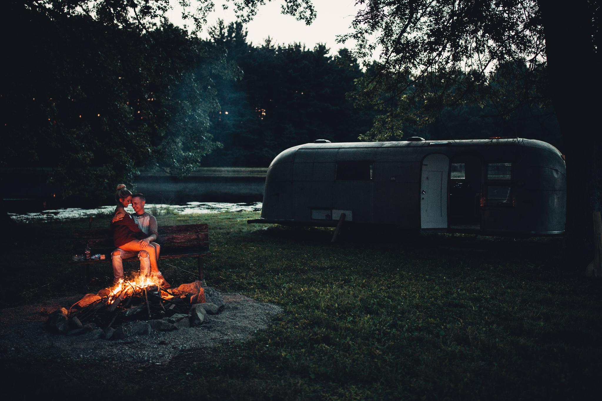 airstream campsite location