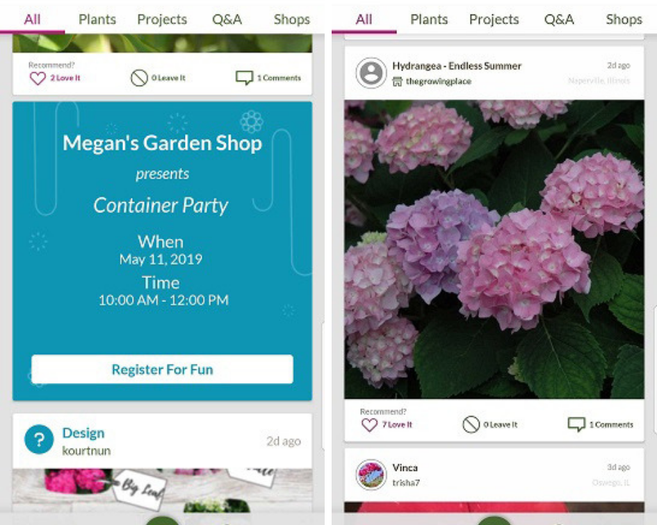 Promote your in-store events, add your plants - There are so many ways to connect with GrowIt! members!
