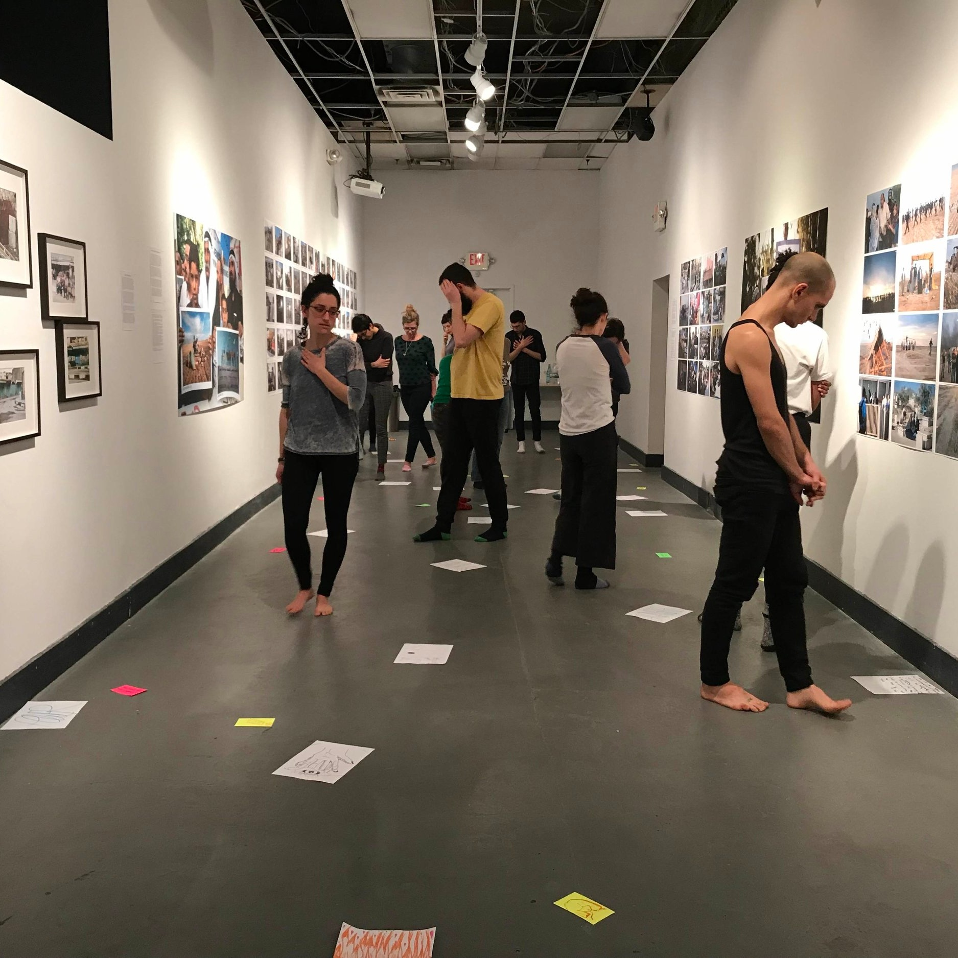 Teaching  Resilient Bodies for Care Providers  for the Creative Resilience Collective, a workshop sharing somatic tools to mental health care providers, February 2019.