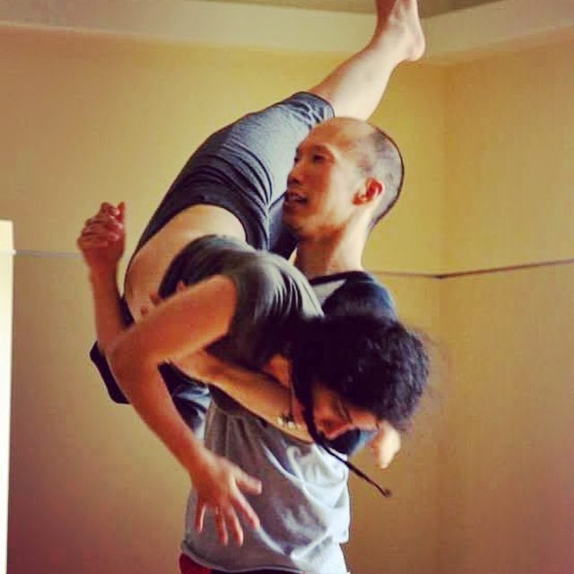 Contact Improvisation teacher.