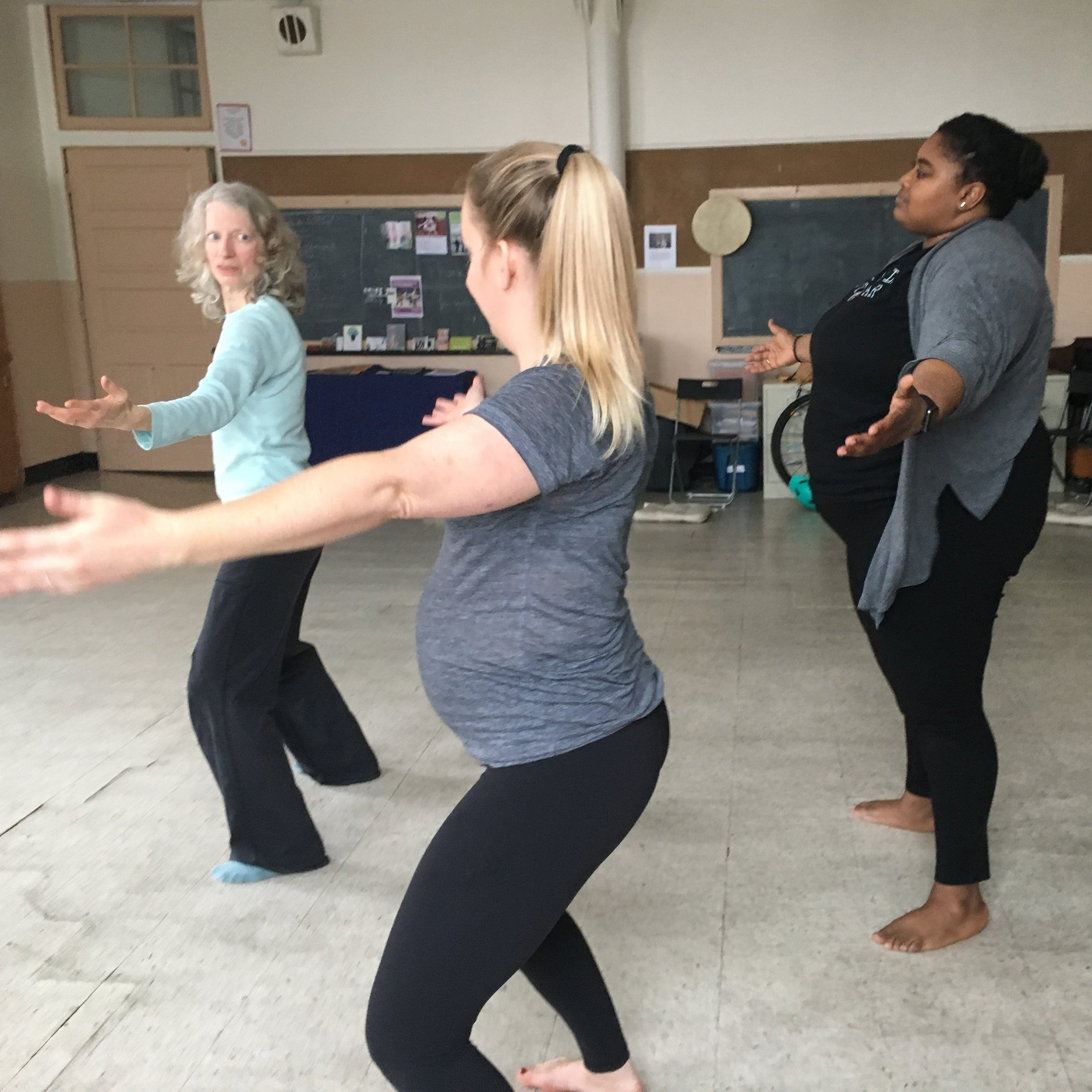 Deep Listening Movement & Vocal Workshop for Childbirth and New Parenting. Sharing tools to access a deeper sense of embodiment during labor. April 14, 2019.