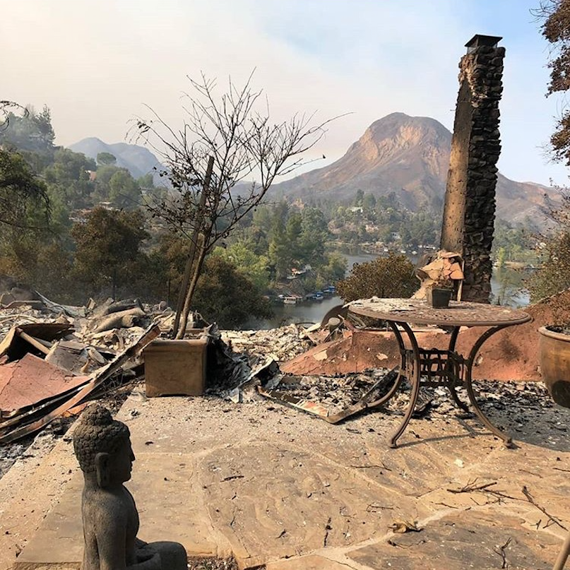 what i learned from watching my house burn - Learn how losing his home to the Woolsey Fire gave a man the perspective he needed to live his life to the fullest…